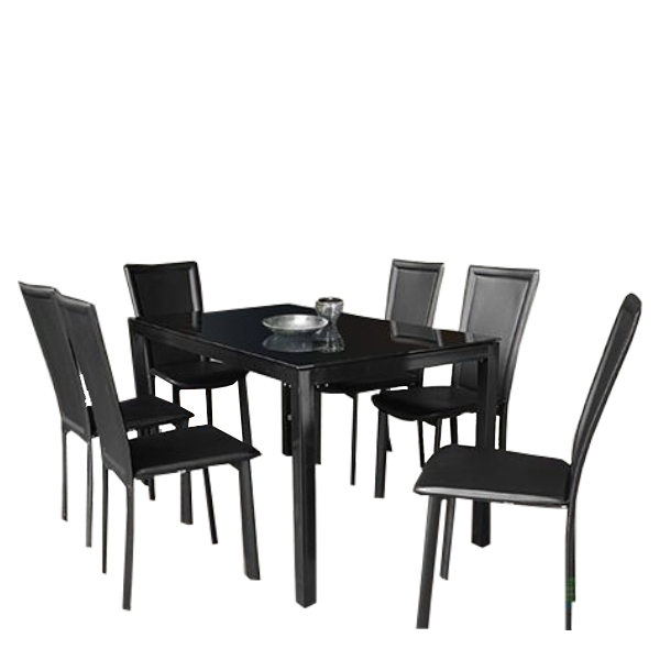CLC DINING TABLE HILARY 6S